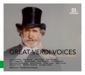 Album artwork for Great Verdi Voices