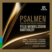 Album artwork for Mendelssohn: Psalmen: Verleih uns Frieden Gnädigl