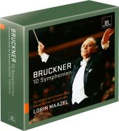 Album artwork for Bruckner: Symphonies 0-9 (complete) / Maazel