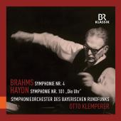 Album artwork for Brahms: Symphony #4, Haydn: Symphony #101 / Klempe