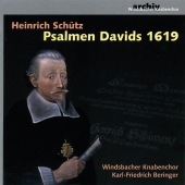 Album artwork for Schutz: Psalmen Davids 1619