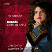 Album artwork for Handel: 9 German Arias