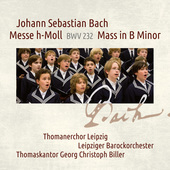 Album artwork for Bach: MASS IN B MINOR / Thomanerchor Leipzig