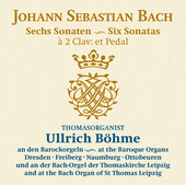 Album artwork for Bach: 6 Organ Sonatas, BWV 525-530