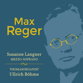 Album artwork for Reger: Vocal and Organ Music