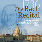 Album artwork for 1736 - The Bach Organ Recital