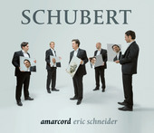 Album artwork for Schubert: Amarcord Ensemble