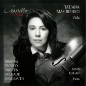 Album artwork for Tatjana Masurenko: Brahms, Enesco, Britten, etc.