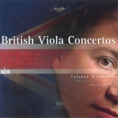 Album artwork for BRITISH VIOLA CONCERTOS