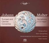 Album artwork for Molter: Trumpet & Clarinet Concertos