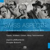 Album artwork for SWISS ASPECTS - ORCHESTRAL MUSIC FROM ARGOVIA 1945