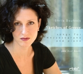 Album artwork for SKETCHES OF GREECE: SONGS FOR MEZZOSOPRANO AND PIA