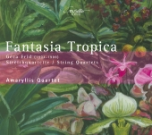 Album artwork for Fantasia Tropica (String Quartets by Geza Frid)