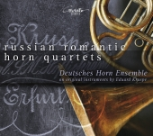 Album artwork for RUSSIAN ROMANTIC HORN QUARTETS