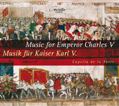 Album artwork for MUSIC FOR EMPEROR CHARLES V
