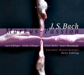 Album artwork for Bach: ST. MARK PASSION