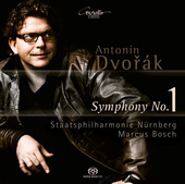 Album artwork for Dvorak: SYMPHONY NO. 1 / Bosch