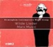Album artwork for WILDE LIEDER - MARX.MUSIC