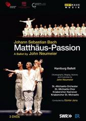 Album artwork for Bach: Matthaus-Passion - A Ballet by John Neumeier