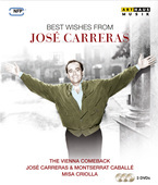 Album artwork for Best Wishes from José Carreras