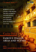 Album artwork for Great Arias: Casta Diva - Famous Italian Arias and