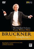Album artwork for Bruckner: Symphonies Nos. 4, 5, 7, 8 & 9