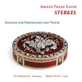 Album artwork for Sterkel: Sonatas for Fortepiano & Violin