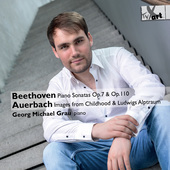 Album artwork for Beethoven: Piano Sonatas, Op. 7 & 10 - Auerbach: I