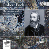 Album artwork for Fuchs: The Complete Works for Cello & Piano