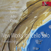 Album artwork for New Works for Cello Solo