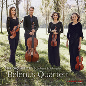 Album artwork for Schubert & Schnyder: String Quartets