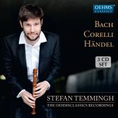 Album artwork for Temmingh plays Bach Handel & Corelli
