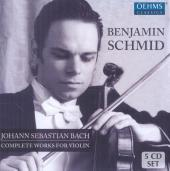 Album artwork for Bach: Complete Works for Violin