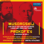 Album artwork for Mussorgsky: A Night on the Bare Mountain - Songs a