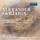 Album artwork for Alexander Scriabin: Symphony No. 2 - Le Poème de