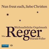 Album artwork for Reger: Organ Music for Christmas