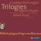 Album artwork for TRILOGIES: ORGAN WORKS