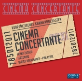 Album artwork for CINEMA CONCERTANTE