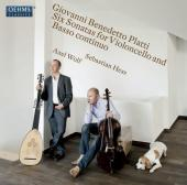 Album artwork for Platti: 6 Sonatas for Cello and Basso continuo