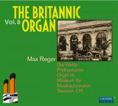 Album artwork for Britannic Organ vol.8 - Works by Reger