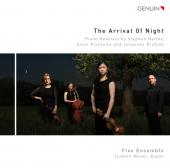 Album artwork for Arrival of Night - Quartets by Hartke, Piazzolla,