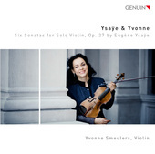 Album artwork for Ysaÿe: 6 Sonatas for Solo Violin, Op. 27