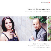 Album artwork for Shostakovich: Sonatas for Violin & Viola