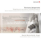 Album artwork for Fortuna desperata: Gothic & Renaissance Organ Musi