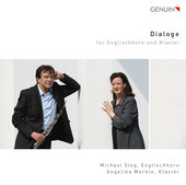 Album artwork for Dialogs for English Horn & Piano