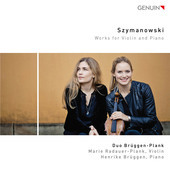 Album artwork for Szymanowski: Works for Violin & Piano