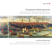 Album artwork for Klingende Hamburgensien
