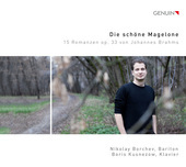 Album artwork for Brahms: Die schöne Magelone / Borchev, Kusnezow