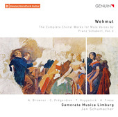 Album artwork for Wehmut: The Complete Choral Works for Male Voices