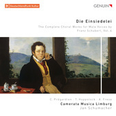 Album artwork for Die Einsiedelei: The Complete Choral Works for Mal
